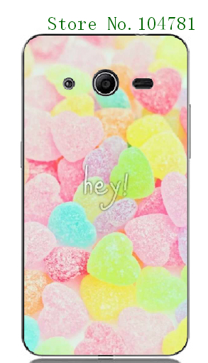 2016 new fashion online-custom hot15 tie colorful candy white hard cases for Samsung Galaxy Core 2 G355H/G3559 Free Shipping