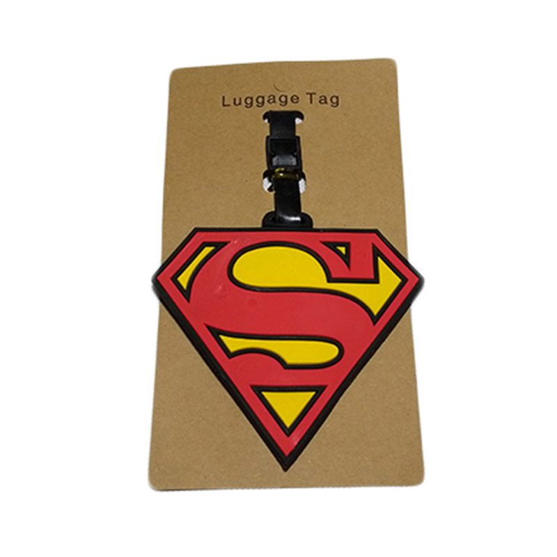 2018 New Fashion Silicon Luggage Tags Travel Accessories For Bags Portable Travel Label Suitcase Cartoon Style For Girls Boys (8)