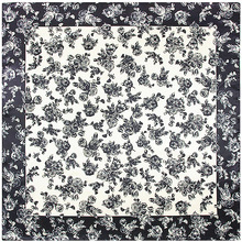90cm*90cm Chinese Style Women Silk Scarf Pattern Pinted Women Square Big Scarf 2017 New Brand Designer
