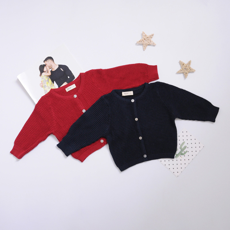 Newborn Baby Cardigan Sweater For Boys Girls Autumn Infant Girl Knied Sweater Clothes Toddler Boy Coon Cardigan Outerwear (11)