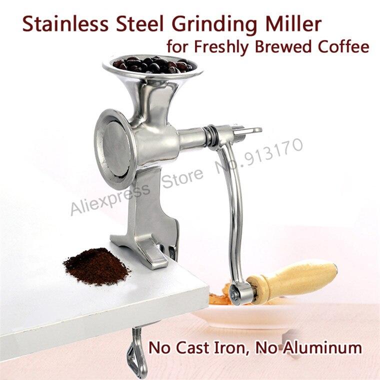 Stainless Steel Grinding Machine Coffee Bean Grinder Miller Walnut Peanut Pulverizer for Chili Soybean <br>