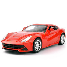 NEW The latest fine 1:32Double Horses light alloy model car back ornaments boy toy holiday gift collection commemorative gift(China)