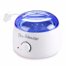 New Spa Wax Heater Manicure For SPA Salon Acrylic UV Gel lamp Beauty Paraffin Warmer Waxing With Lid 400ml Makeup Tools Kit(China)