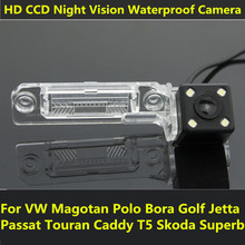 For VW Magotan Polo Bora Golf Jetta Passat CC Touran Caddy Multivan T5 Transporter Car CCD Night Vision Backup Rear View Camera(China)
