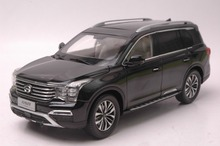 1:18 Diecast Model for China GAC Trumpchi GS8 Black SUV Alloy Toy Car Collection Gifts(China)