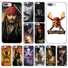 Lavaza Pirates of the Caribbean Johnny Depp Hard Phone Case for Apple iPhone 8 7 6 6S Plus X 10 5 5S SE 5C 4 4S(China)