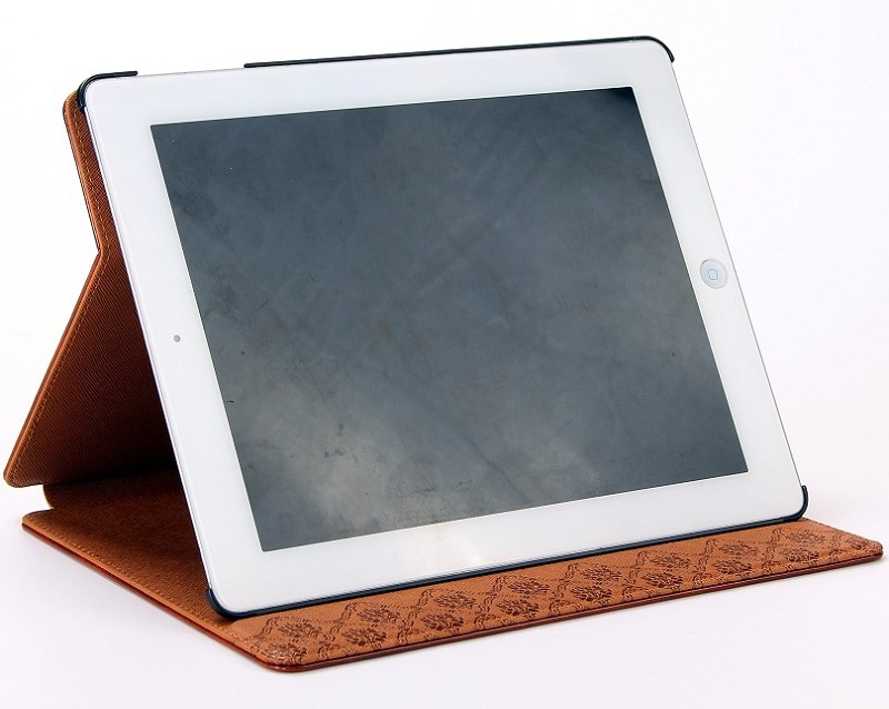 brown leather case for iPad Air
