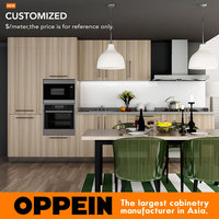 7 Days Delivery One Piece Kitchen Units Apartment China Kitchen Goods  Furniture Kitchen Cabinet OP14