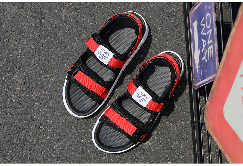 YRRFUOT Summer Big Size Fashion Men's Sandals Outdoor Hot Sale Trend Man Beach Shoes High Quality Non-slip Adult Flats Shoes 46 43 Online shopping Bangladesh