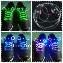2017 Hot Sale Classic Style Shoe Lace Glowing Shoelaces Led Shoe Laces Festival Gift Skating Shoe Lace