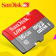 2016 Original SanDisk 128GB micro SD Card 64GB 16GB class 10 memory card 80MB/S micro sd 32GB microsd  tf card free shipping