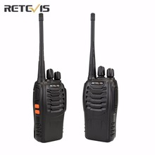 2 pcs Retevis H777 Walkie Talkie Transceiver UHF400-470MHz Frequency Handy Portable Radio Set Amateur Two Way Radio A9105A(China)