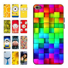 Printed Phone Cases for Apple iPod Touch 4 4th 3.5 inch Original Back Cover Case Painting Shell Bag Skin Coque Capa(China)