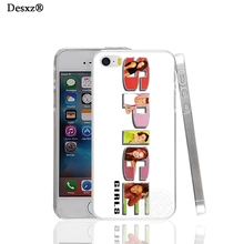 Desxz 17784 spice girls logo hard transparent Cover Case for Apple iPhone 4 4S 5 5S 5C SE 6 6S Plus(China)