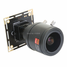 5megapixel 2592X1944 MJPEG 1/4 CMOS OV5640 2.8-12mm varifocal lens 38*38mm Auto exposure small usb camera module for industrial(China)