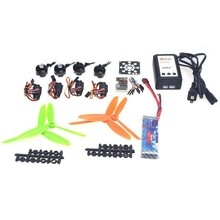 4Axis RC Helicopter Kit KV2300 Brushless Motor+12A ESC+QQ Super Flight Control+FC6x4.5 Propeller for 250 Helicopter F12065-K(China)