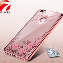 Buy Xiomi Xiaomi Redmi 4X Case Bling Diamond Soft TPU Clear Rubber Back Cover Redmi 4 X Pro Flower Flora Silicone Phone Cases for $2.99 in AliExpress store