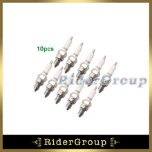 10pcs Ignition Spark Plug NGK C7HSA For 50cc 70cc 90cc 110cc 125cc Engine ATV Quad Pit Dirt Bike Motorcycle Moped Scooter