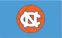 3x5ft University of North Carolina Basketball Flag with gromments