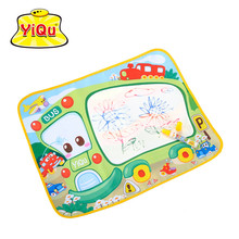 Baby Game Magic Painting Mat Water Doodle Mat Pad Alfombra Infantile 58x48cm Bus Baby Water Drawing Developing Mat(China)