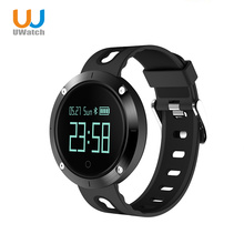 UWATCH Smart Bracelet Step Sleep  Blood Pressure Monitoring  Compatible With Android  IOS IP68 Waterproof Round Fitness Table