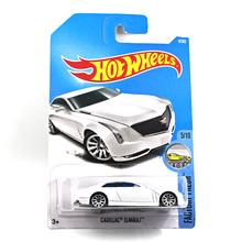 1:64 Alloy car model 2017 new hot wheels hot little sports car wind wheel car car model Cadillac ELMIRAJ 8 worth collecting