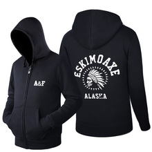 Top Quality AF Anjoy&Fitch Brand Casual Hoodies men Tops Autumn Winter Fleece ZIpper Men Hip Hop sweatshirt Clothing