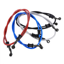 50cm-120cm Motorcycle brake Hose Braided Steel Brake Clutch Oil Hose Line Pipe Fit ATV Dirt Pit Bike Car-Styling 5 Color Hot