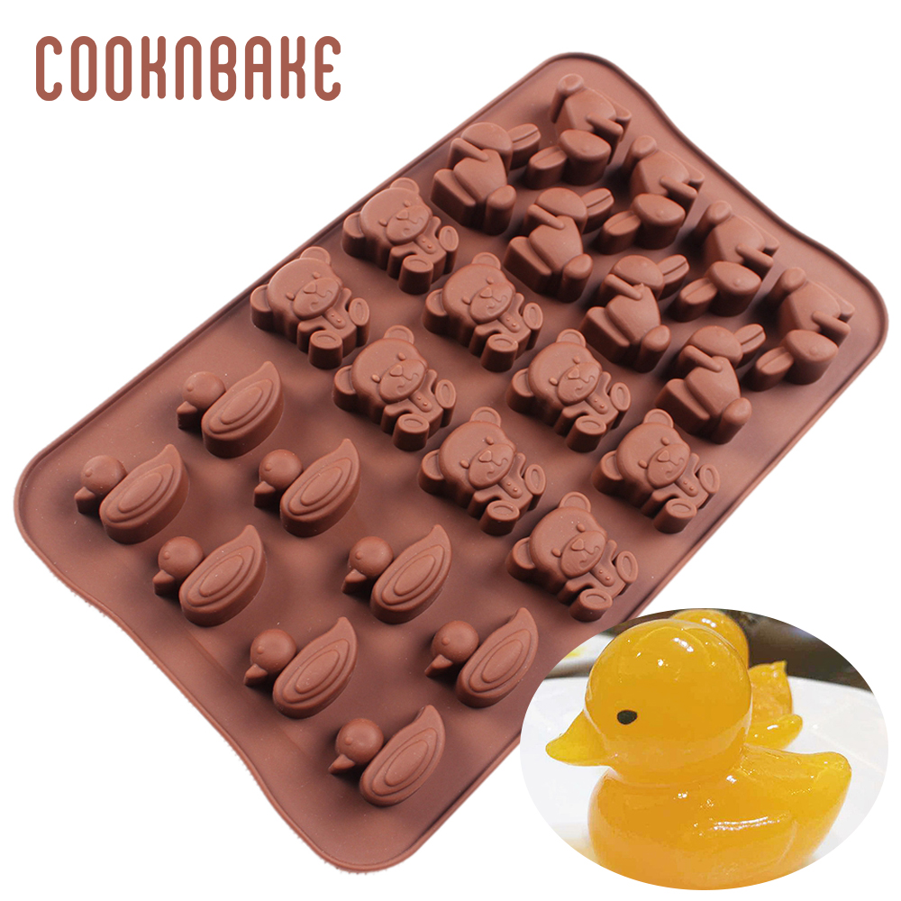 24 Small Round Chocolate Mold Silicone Fondant Mould Diy Tools Portable#S