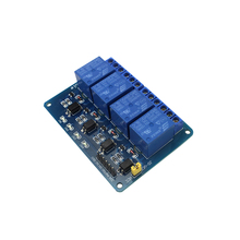 5V 4-Channel Relay Module Shield with optocoupler ARM PIC AVR DSP Electronic 5V 4 Channel Relay Module for arduino Diy Kit