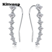 Kittenup New fashion Seven stars Trendy Jewelry Beautifully Ear row Accessories line type Earrings for women(China)