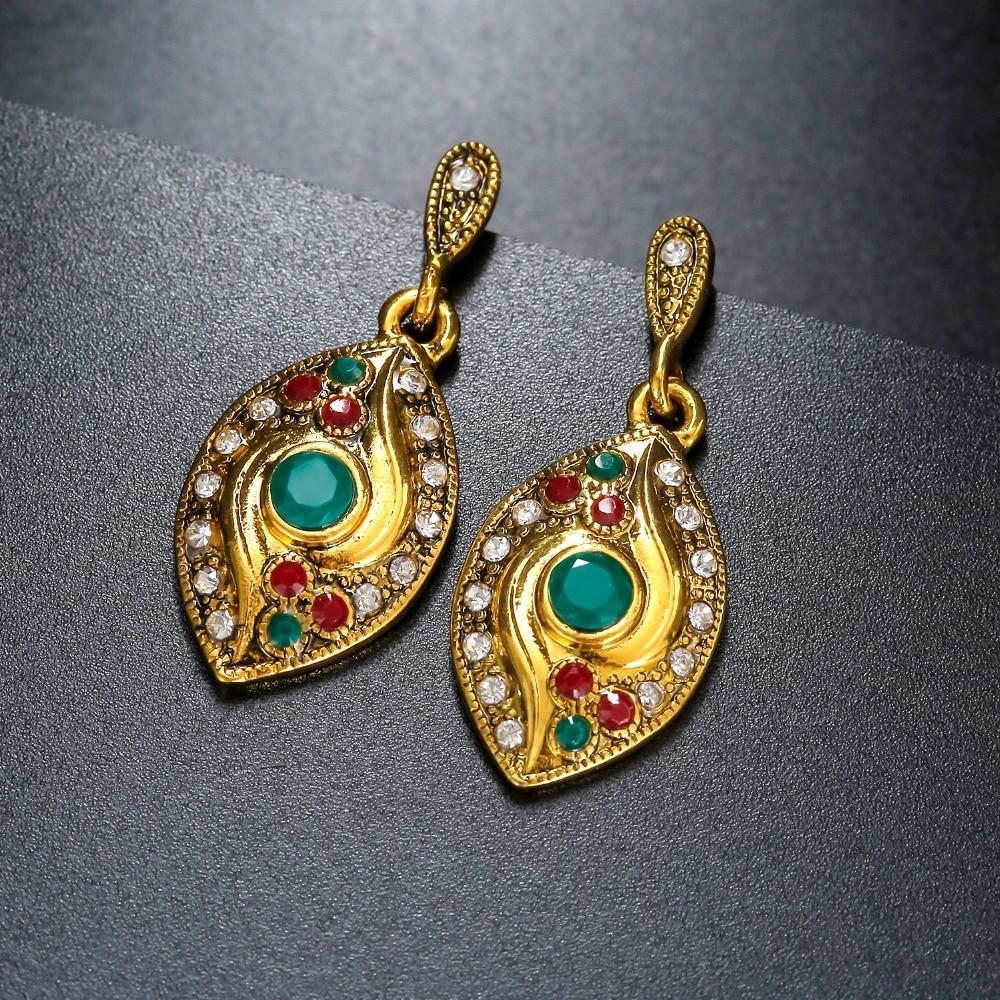 Long earrings indian