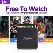 Octa Core S912 Android TV Box 2G+16G Dual Band WIFI Media Player with 3500 HD IPTV Arabic Europe VIP Subscription 1 Year Account