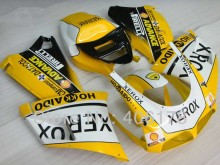 Hot Sales,Aftermarket Fairing For Ducati 996 1996-2002 96-02 Yellow XEROX Motorcycle Fairings kit (Injection molding)
