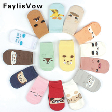 Baby Anti-slip Cotton Socks Autumn Winter Cute Cartoon Animal Soft Warm Floor Socks Boy Girl Casual Socks Children Meias(China)