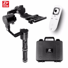 Buy Zhiyun Crane V2 3 axi handheld stabilizer 3-axi gimbal DSLR Canon Cameras Support 1.8KG F18164 for $549.00 in AliExpress store