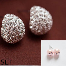 Earrings an atmosphere of a casual fashion ladies choose to work leisure life ZH05