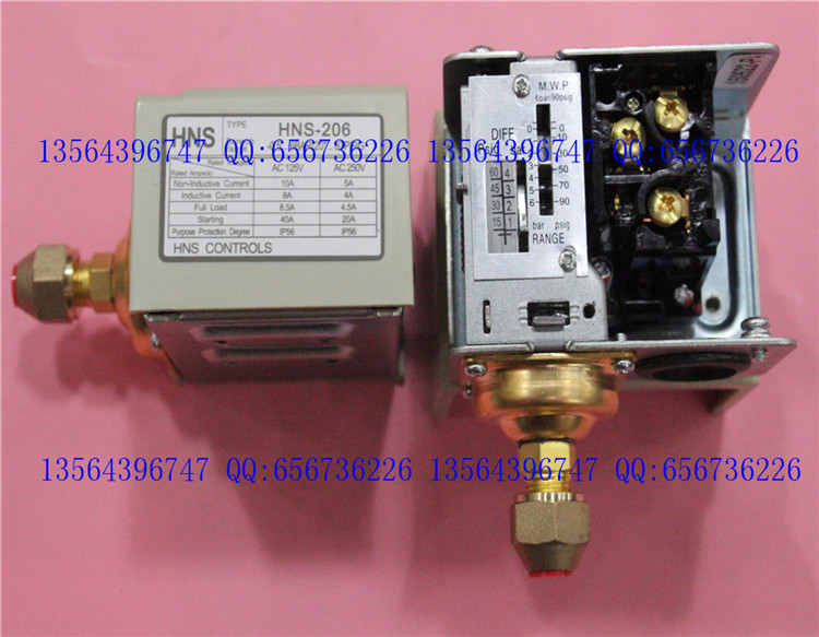 3s pressure switch single electro controller  HNS-206<br>