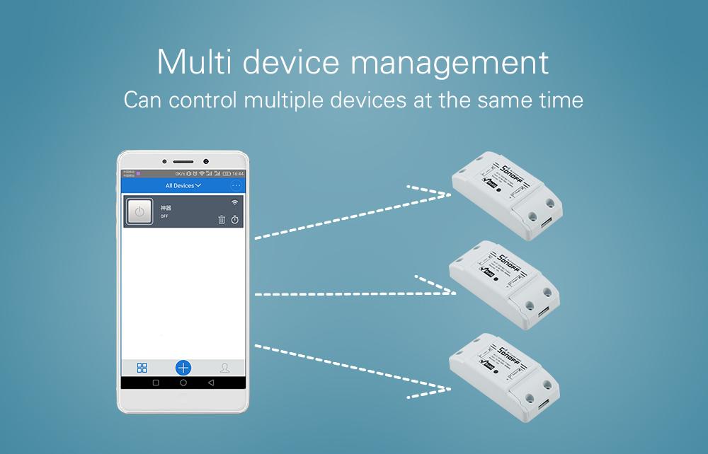 Sonoff dc220v Pilot Bezprzewodowy Przełącznik automatyki Inteligentnego Domu/Inteligentny WiFi Centrum dla APP Inteligentny Dom Steruje 10A/2200 W 7