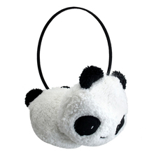 Cute Large Fluffy Fur Plush Panda Earmuffs Winter Ear Warmer Ladies Women Girls