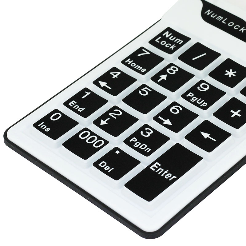 KPC1283_2_19 Keys Silicone Air Touch Numerical Keypad
