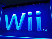 LH010- Wii Game LED Neon Light Sign home decor crafts(China)