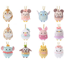 2017 New Arrival 6cm Tsum Tsum Plush toy doll Cute Screen Cleaner Plush toy juguetes TSUM TSUM mini plush  Dolls & Stuffed Toys