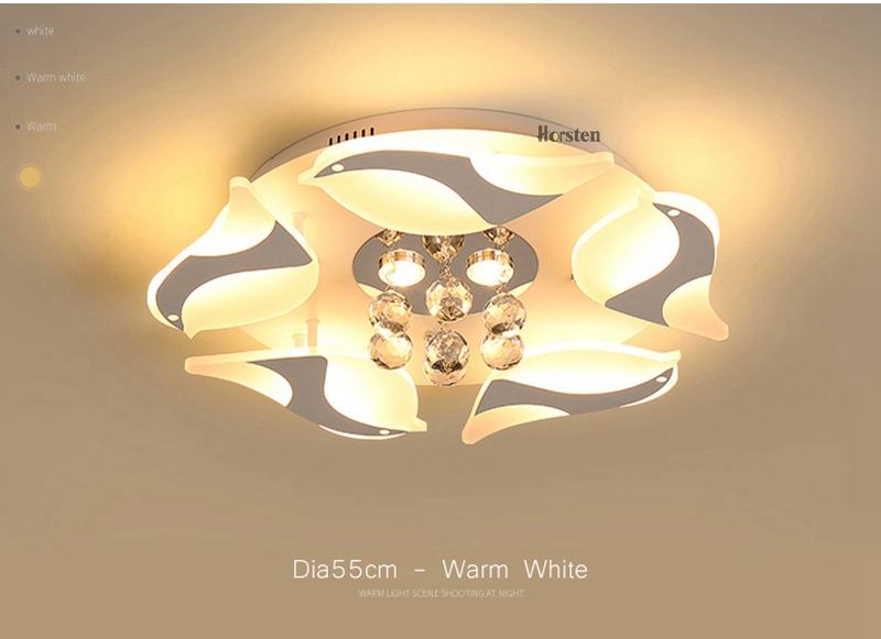 Modern Luxury Bird Crystal Ceiling Lamps With Remote Controller Dia957555cm Crystal Ceiling Chandelier For Living Room Bedroom (13)