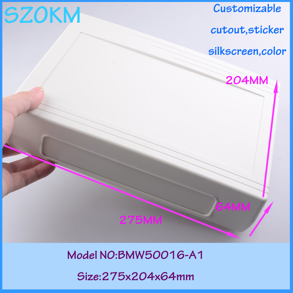 Free shipping plastic project box enclosure wall mount plastic panel electric abs plastic box industrial 275*204*64mm<br>