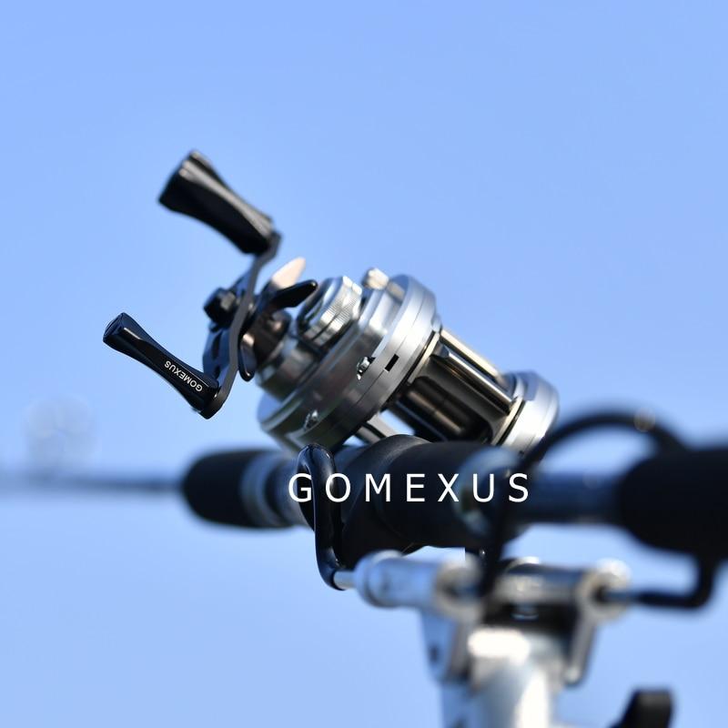 Gomexus Power Handle For Abu Garcia Lews Daiwa Baitcasting Reel 8x5mm 75mm