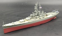 Value rare AMER 1: 1000 World War II US Army South Dakota Battleship Model Warship world Alloy warship model Collection model