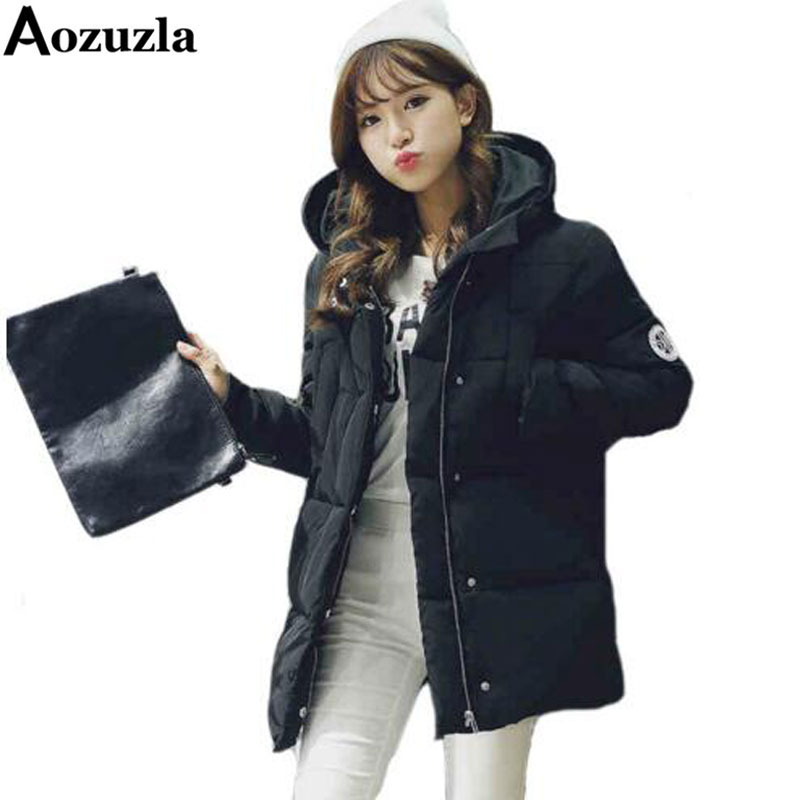 Newest Parkas For Women Winter Thick Warm Woman Clothes 2017 Fashion Hooded Down Jacket Plus Size Parka Coat Female Outwear Одежда и ак�е��уары<br><br><br>Aliexpress