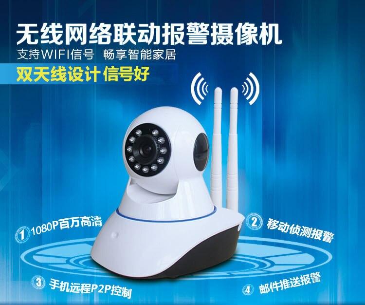 Wireless camera 1080P intelligent high definition network camera home WiFi remote monitor<br><br>Aliexpress