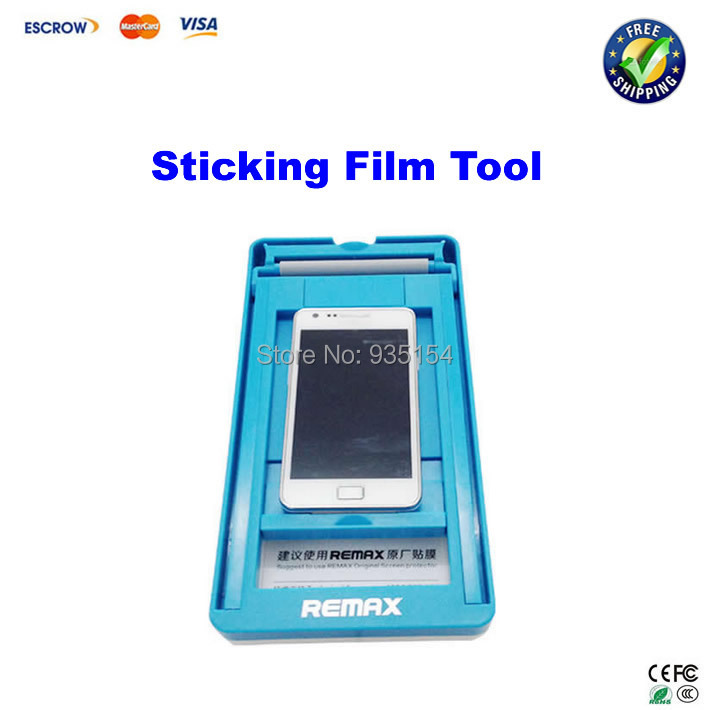 Universal Automatic phone LCD Protective sticking Film tool Cover Film For iPhone 4 4S 5 5S 5C Samsung HTC+free gift<br><br>Aliexpress